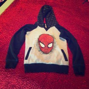 Boy's Disney Marvel Spider-Man Sweatshirt, 7/8
